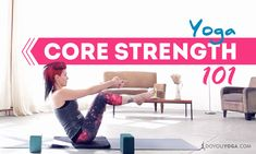 International yoga teacher Sadie Nardini breaks down some of the common myths about core strength and how it's utilized in the practice of yoga asana.
