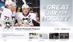 Great Facebook cover by @Pittsburgh Penguins