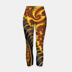 Printed Yoga Pants, Workout Wear, My Style, How To Wear, Fashion, Moda, Fashion Styles, Fashion Illustrations