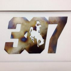 Items similar to Wyoming Cowboys 307 Metal Art Sign on Etsy Wood Projects For Beginners, Scrap Wood Projects, Beach Stairs, Wyoming Vacation, Wyoming Cowboys, Recycled Pallets, Stain Colors, Wooden Signs, Metal Art