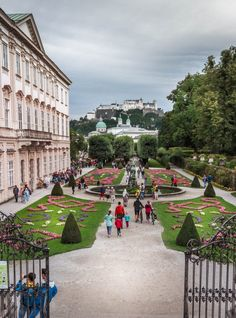 The Sound of Music Steps, Mirabell Gardens Mirabell Gardens is a must visit location for any Sound of Music fan in Salzburg. Dance on the fountain and run down the hedge tunnel while singing Do Re Mi Visit Austria, Austria Travel, Do Re Mi, Croatia Travel, Thailand Travel, Bangkok Thailand, Italy Travel, Innsbruck, Sound Of Music