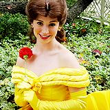 I want to work as disney princess!! it is my dream in life to actually be a disney princess! specifically Belle!