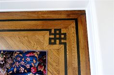Capadia Designs: Saturday Inspiration - Inlaid Wood Pattern