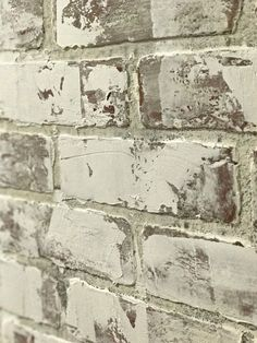 Use venetian plaster to give your faux brick wall extra texture. Related posts: TINA BFaux Brick WallsTrending on Gardenista: Blooming Down Under Faux Brick Wall Panels, Fake Brick Wall, Brick Wall Paneling, Painted Brick Walls, Faux Walls, Textured Walls, Paneling Painted, Wood Walls, Home Renovation