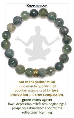 Buddhist Mantra Self Care mindfulness Meditation Wellness WristbandKey Rings. Earring Trends, Jewelry Trends, Boho Jewelry, Jewelry Gifts, Jewelery, Natural Gemstones, Healing Gemstones, Healing Crystals, Bracelets