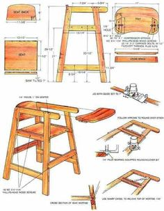 How To Build A Homemade High Chair Do It Yourself In