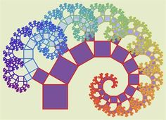 Mathematics with Plymouth University. Pythagorean tree fractal shows how simple rules used repeatedly can generate rich structures.