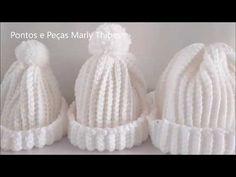 Crochet Beanie Hat, Crochet Cap, Crochet Cross, Crochet Home, Cute Crochet, Beanie Hats, Crochet Edging Patterns, Crochet Stitches, Knitting Patterns