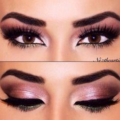Beautiful makeup = Hermoso maquillaje