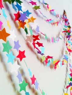 Esty is a great place to find unique party decor and garlands. Be sure to use Command(TM) Party Banner Anchors to hang them up - goes on easily and removes cleanly. #GetYourPartyStarted