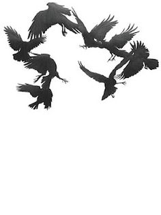 The further myths or facts of Crow. Raven Logo, Raven Tattoo, Crow Tattoos, Crow Art, Raven Art, Bird Art, Blackbird Singing, Quoth The Raven, Jackdaw