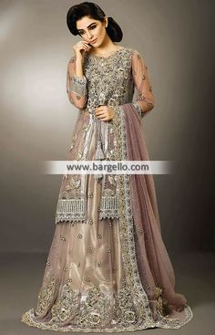 Magnificent Bridal Lehenga Dress for Valima and Special Occasions - Bridal Rapids Illinois US and Pakistani Bridal Lehenga, Designer Bridal Lehenga, Pakistani Wedding Dresses, Indian Dresses, Indian Outfits, Walima Dress, Desi Wear, Catwalk Fashion, Bridal Outfits