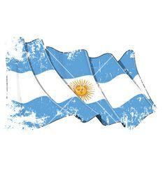 Grange flag of argentina vector - by nazlisart on VectorStock® Argentinian Flag, Flag Vector, Vector Free, Tapestry, Illustration, Empanadas, Flyers, Tattoo Banner, Tatoo