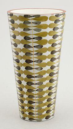 Stig Lindberg; Glazed Ceramic Vessel for Gustavsberg, c1960.