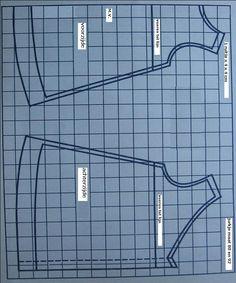 Naaipatroon baby jurk en broek. Deze gratis patronen zijn voor maat 80 en 92. Het is een simpel basispatroon voor een zomerjurkje en een