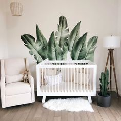 Modern Convertible Cribs, Nursery Gliders, Baby Furniture Collections 🌴 keep palm and carry on 😉 Jungle Baby Room, Baby Room Boy, Jungle Theme Nursery, Baby Nursery Decor, Baby Decor, Nursery Room, Nursery Neutral, Themed Nursery, Safari Nursery Themes