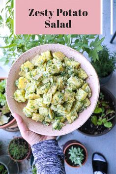 Zesty potato salad that goes perfectly well with any BBQ, on the side of a sandwich, with a piece of meat or fish - this zesty potato salad is sure to please! No mayo, no egg, no dairy, no gluten. ALL FLAVOR! #potatosalad #glutenfree #dairyfree #eggfree #recipes #saladerecipes #saladinspo #salads #healthyfood #healthyrecipes #healthymealinspo #recipes #easydinnerideas #easymeals Thanksgiving Salad, Thanksgiving Side Dishes, Dairy Free Recipes, Healthy Recipes, Mac Cheese Recipes, Egg Free, Food Allergies, Fresh Herbs, Glutenfree