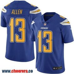 Men's San Diego Chargers #13 Keenan Allen Royal Blue 2016 Color Rush Stitched NFL Nike Limited Jersey