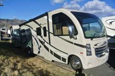 2016 New Thor Motor Coach VEGAS 25.2 Class A in Colorado CO.Recreational Vehicle, rv, 2016 THOR MOTOR COACH VEGAS25.2, 12V Attic Fan in Bedroom, 12V Attic Fan in Living Area, 15.0 BTU A/C, 32in Exterior TV, 32in TV in Bedroom, Cabinetry-Olympic Cherry, Holding Tanks w/Heat Pads, Interior-Polished Pewter, Jazzy Blue Exterior, Second Auxiliary Battery,