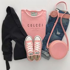 75 Best Pink Converse Outfits images | Outfits, Pink