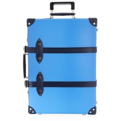 "Globe-Trotter Cruise 21"" Trolley Case ($1,420) ❤ liked on Polyvore featuring bags and luggage"