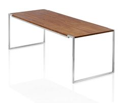 Hover Desk / Walnut on Behance