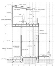 Image 46 of 46 from gallery of Dragon Court Village / Eureka. Detail Section Aichi, Architecture Drawings, Architecture Details, Floor Plan Sketch, Curtain Wall Detail, Vertical City, Museum Plan, Architectural Section, Architectural Materials