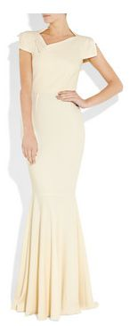 Maxi dress by Roland Mouret.