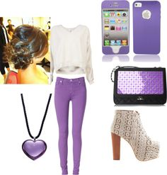 """""""Purple"""" by jahlah on Polyvore"""