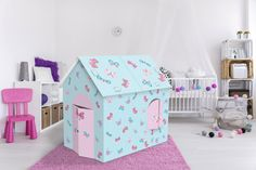 Baby Playhouse Butterfly Kids play house butterfly  by Jiocosa