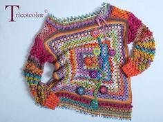 Фотография this is so cute Crochet Bolero, Cardigan Au Crochet, Pull Crochet, Mode Crochet, Crochet Girls, Crochet Jacket, Freeform Crochet, Crochet Cardigan, Crochet Stitches