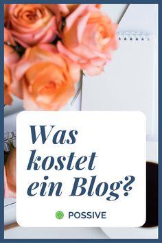 Wir haben für dich vorgerechnet: Was kostet ein Blog? Sieh dir unseren Artikel an und finde heraus, wie teuer ein Blog im Monat ist. Lerne profitabel bloggen und werde ein erfolgreicher Blogger. Online Geld verdienen mit einem Blog #erfolgreichbloggen #bloggerwerden #bloggerinwerden #blog #blogstarten #blogkosten Wordpress Theme, Monat, Affiliate Marketing, Blogging, Place Cards, Place Card Holders, Tutorials, Cool Tools, Earn Money Online