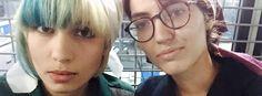 Kremlkritikerinnen Nadeschda Tolokonnikowa und Katrin Nenaschewa: Über Twitter veröffentlichten sie Bilder der Festnahme