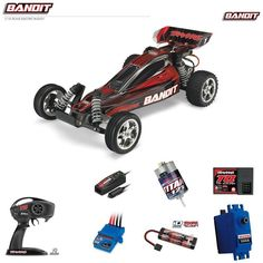 Don't miss out on this great deal on a Traxxas Bandit 1/... Check it out here http://twisted-hobby.myshopify.com/products/traxxas-bandit-1-10-extreme-sports-buggy-2wd-rtr-w-tq-id-battery-red?utm_campaign=social_autopilot&utm_source=pin&utm_medium=pin