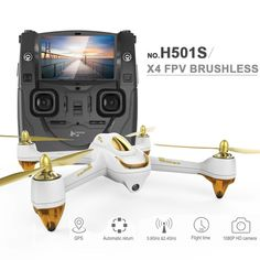 Hubsan H501S X4 RTF RC Quadcopter w/ FPV 1080P HD Camera / GPS. From 395,- for Euro 250,85.