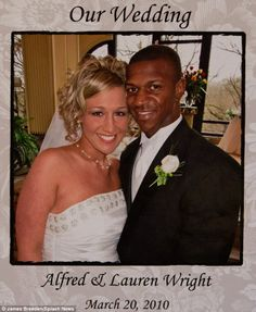 """Alfred and Lauren Wright enrage Jasper Texas racist sheriff Maddox and his friends who lynch him and then cover up his murder in 2013! They call a cut throat, missing eyes, ears, tongue, teeth and a slit throat accidental death after calling off the search saying he ran off. The police went so far as to post on Lauren's face book page: """"He's laid up droning cold beer watching football some place warm!"""""""
