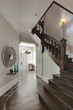 Lincoln Park Residence contemporary entry  best wall color