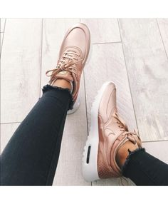 179a7dd485df4 Nike Air Max Thea Rose Gold Rose Gold Trainers