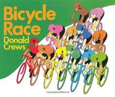 Bicycle Race by Donald Crews http://www.amazon.com/dp/0688051715/ref=cm_sw_r_pi_dp_2w3Utb0PCKG8GC7B