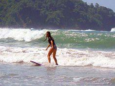 Surfing Samara Beach Costa Rica