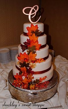 love love love this cake! definately what i want our cake to look like w a few small changes!