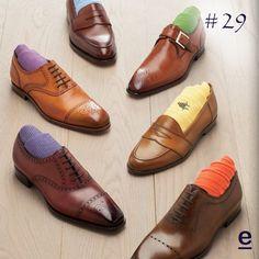 #29 Bright colored socks. Men's fashion