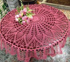 Home Decor Crochet Patterns Part 97 - Beautiful Crochet Patterns and Knitting Patterns Crochet Towel, Crochet Art, Crochet Round, Thread Crochet, Filet Crochet, Crochet Gifts, Crochet Doilies, Crochet Table Topper, Crochet Tablecloth Pattern