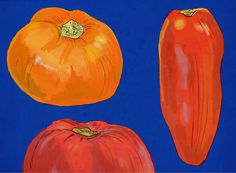 Set of 10 Holiday Tomatoes Blank Cards by drenculture on Etsy, $25.00