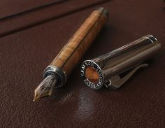 Faber Castell wooden fountain pen