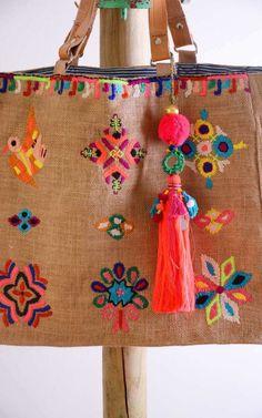 Sac Star Mela Zelma Emb Multicolor
