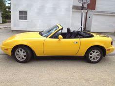 Cool Mazda 2017: 1992 Mazda MX-5 Miata 1992 Mazda Miata Sunburst Yellow Excellent Cond. 45,000 Miles Check more at http://24go.cf/2017/mazda-2017-1992-mazda-mx-5-miata-1992-mazda-miata-sunburst-yellow-excellent-cond-45000-miles/