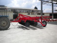 Picture of our Trailed TAYFUN Series 30x o56cm Discs Equipped Disc Tiller with V Profile Roller