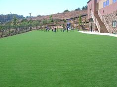 Artificial Grass Installation done by SYNLawn LA at Glendale Adventist Academy in Glendale, Ca. 5000 SQFT of SYNBermuda 200 installed. The kids and school are loving it! Call SYNLawn LA today at 866-739-LAWN and let us help you improve your school play areas. You can also check out our website at www.discountartificialgrass.com for more installation ideas!