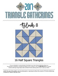 Block 8 Triangle Gatherings